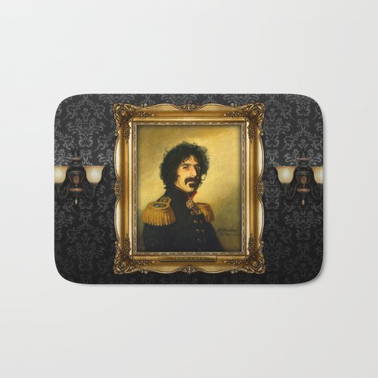 Frank Zappa - replaceface Bath Mat