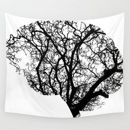 Brain Tree Wall Tapestry
