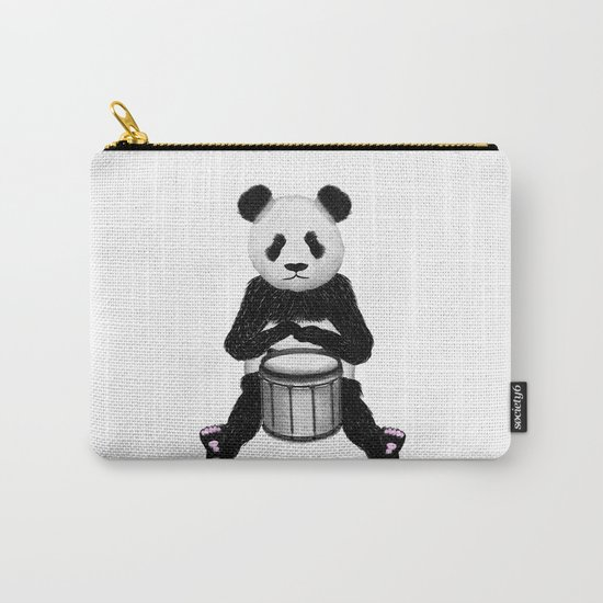 Panda Drummer Carry-All Pouch