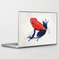 frog Laptop & iPad Skins featuring Frog by Jacob Haynes