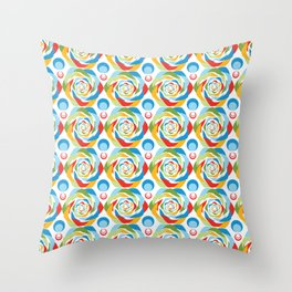 Rose Abstraction Throw Pillow