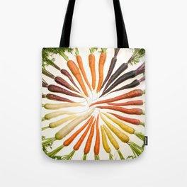 Carrot Color Wheel Tote Bag