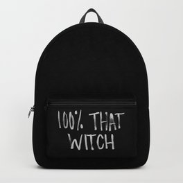 100% That Witch Backpack