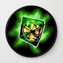 The Nuke Cube Wall Clock