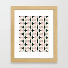 Geometric pattern.5 Framed Art Print