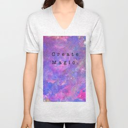 Create Magic Unisex V-Neck