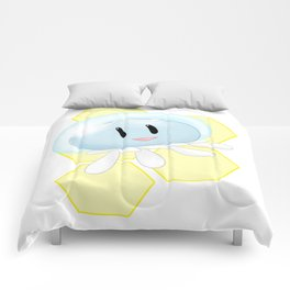 Lovable Jellyfish - DMMD - CLEAR Comforters