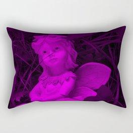 Broken Dreams In Purple Rectangular Pillow