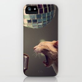 Household pet competition iPhone Case
