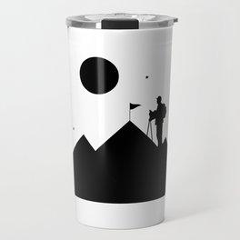 Rock Climbing - Mountain Climbing Travel Mug