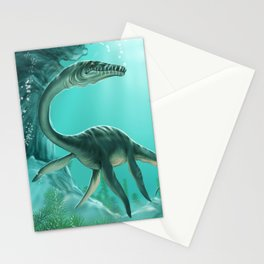 Underwater Dinosaur Stationery Cards
