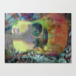 So Much Daze, So Little Sun Canvas Print