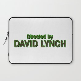 Directed by David Lynch Laptop Sleeve