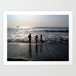 Love Ours Art Print
