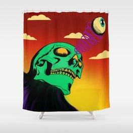 3rd eye open and dead inside Shower Curtain