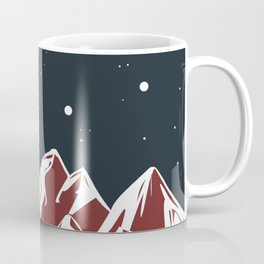 galactic mountains Coffee Mug