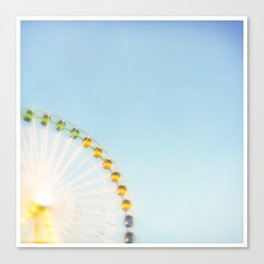 """by the big wheel generator"" Canvas Print"
