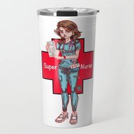 Super Nurse Hero Travel Mug