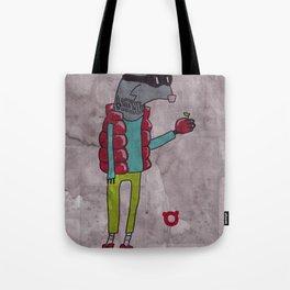 006_raccoon Tote Bag