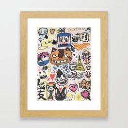 Pop Swag Framed Art Print