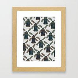 windmill print. Framed Art Print