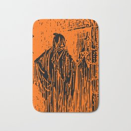 The Ghost at the Door Bath Mat