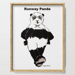 Riggo Monti Design #17 - Runway Panda Serving Tray