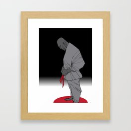 fist two Framed Art Print