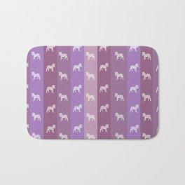 Zebra Pattern Bath Mat