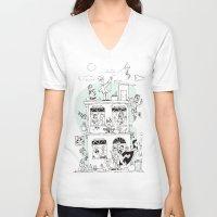 the neighbourhood V-neck T-shirts featuring Neighbourhood by neicosta