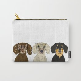 Triple Doxies Carry-All Pouch