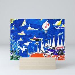 The Marina, Southport, Qld. Australia                 by Kay Liptpon Mini Art Print