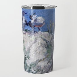 Very Funny — Birds on a Dune Travel Mug