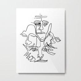 Moods Metal Print