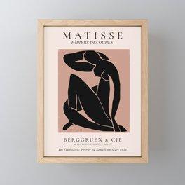 Matisse - Nude Figure Framed Mini Art Print