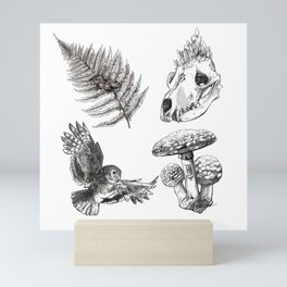 Oldwood Treasures  Mini Art Print