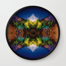 Acid-land. Wall Clock