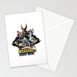 Boku no My hero academia Stationery Cards