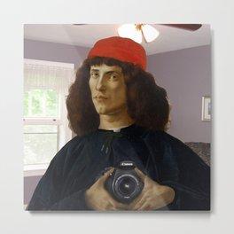 Ancient selfie Metal Print
