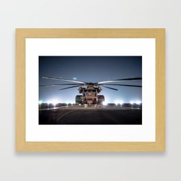 Navy CH-53 Super Stallion Framed Art Print