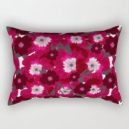 Flowers Overflowing Rectangular Pillow