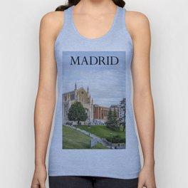 El Prado Museum. Madrid Unisex Tank Top