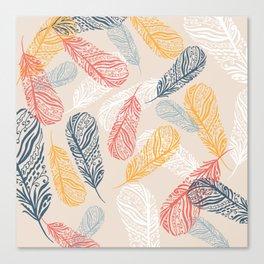 FeathersI Canvas Print