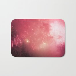 Universe of Fireworks. Bath Mat