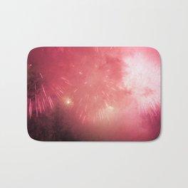 Universe of Fireworks. Bath Mat