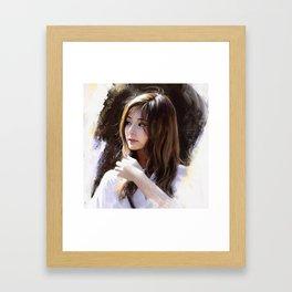 Portrait of Tzuyu Framed Art Print