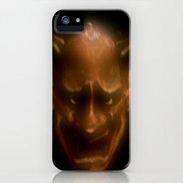 Hannya demon iPhone Case