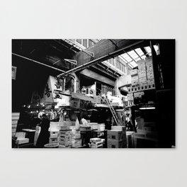 Tsukiji III Canvas Print