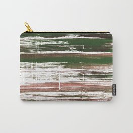 Kombu green abstract watercolor Carry-All Pouch