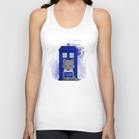 bad wolf Tank Tops featuring Bad Wolf by Perdita